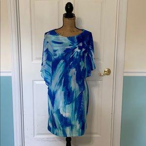Ladies turquoise dress